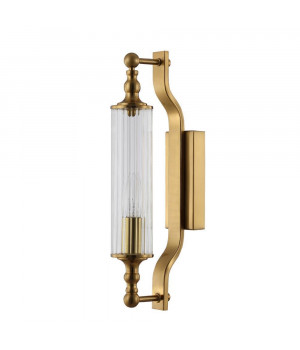 Бра Crystal Lux Tomas AP1 Brass